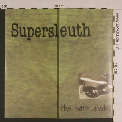Supersleuth: The Hate Divides, Underestimate(UER 008), US,  - EP - S7736 - 4,00 Euro