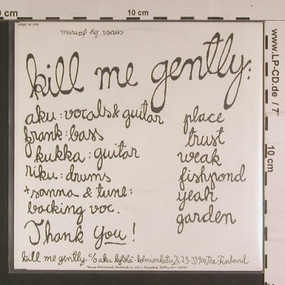 Kill Me Gently: Place+5, Teenage Rebel(TR 056), D, 1996 - EP - S7751 - 5,00 Euro