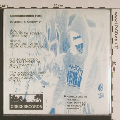 Immortal Majority: Solo in te stesso-3, GreenRec(IM 003), I, 1993 - EP - S7752 - 5,00 Euro