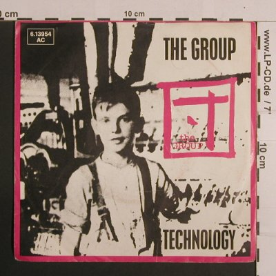 Group, the: Technology, m-/vg+, Jive(6.13 954 AC), D, 1983 - 7inch - S7964 - 2,00 Euro