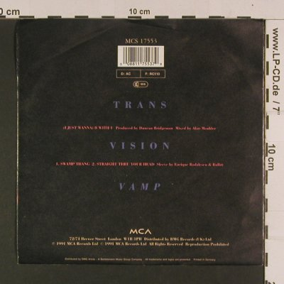 Transvision Vamp: (I just wanna)B with U +2, MCA(MCS 17 553), D, 1991 - EP - S8002 - 2,50 Euro