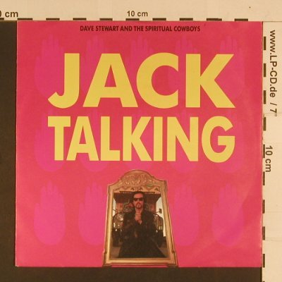 Stewart,Dave: Jack Talking / Suicidal Sid, RCA(PB 43907), D, 1990 - 7inch - S8018 - 2,50 Euro