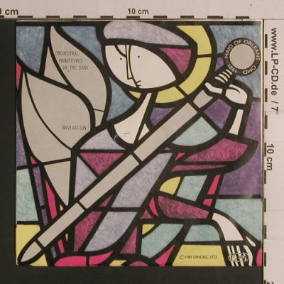 OMD: Maid Of Orleans/Navigation, DinDisc(103 894-100), D, 1981 - 7inch - S8365 - 2,00 Euro