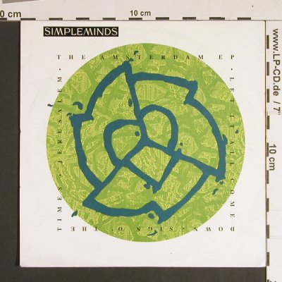 Simple Minds: The Amsterdam EP, Virgin(SMX 6), D, 1989 - 7inch - S8621 - 3,00 Euro