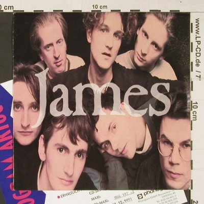 James: Sound / All my Sons, Fontana(866 196-7), D, Facts, 1991 - 7inch - S9037 - 2,50 Euro