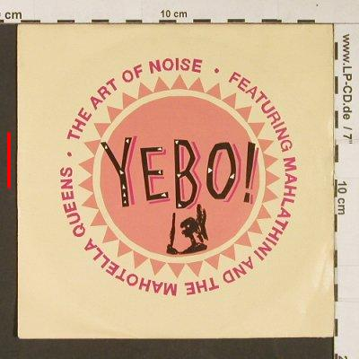 Art of Noise: Yebo / Dan Dare (edit), m-/vg+, China(889 684-7), D, 1989 - 7inch - S9063 - 2,50 Euro