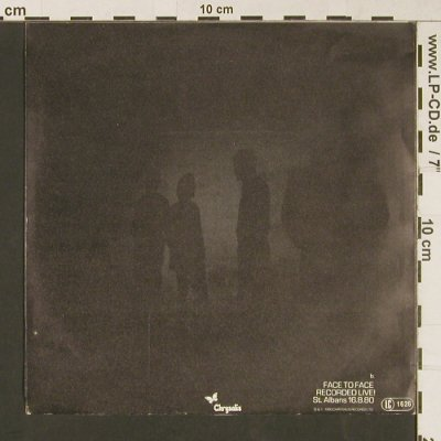 Ultravox: Passing Strangers / Face To Face, Chrysalis(102 508), D, 1980 - 7inch - S9126 - 3,00 Euro