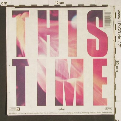 INXS: This Time / I'm Over You, m-/vg+, Mercury(884 123-7 Q), D, 1985 - 7inch - S9134 - 2,50 Euro