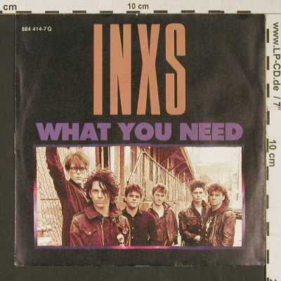 INXS: What You Need / Sweet As Sin, Mercury(884 414-7), D, 1985 - 7inch - S9135 - 3,00 Euro