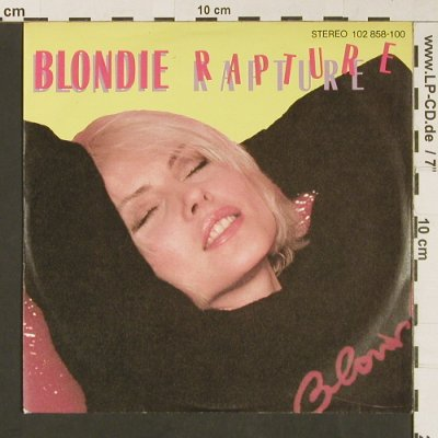 Blondie: Rapture / Walk Like Me, Chrysalis(), D, 1981 - 7inch - S9154 - 3,00 Euro