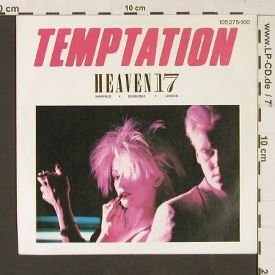 Heaven 17: Temptation / We Live So Fast, Virgin(105 275-100), D, 1983 - 7inch - S9229 - 3,00 Euro