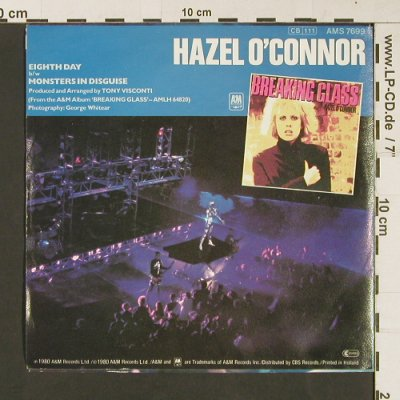 O'Connor,Hazel: Eight Day / Monsters In Disguise, AM(S7699), NL, 1980 - 7inch - S9246 - 2,50 Euro