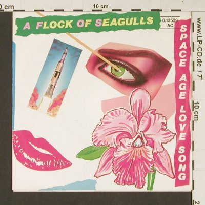 A Flock Of Seagulls: Space Age Love Song / Windows, Jive(6.13539), D, 1982 - 7inch - S9249 - 3,00 Euro