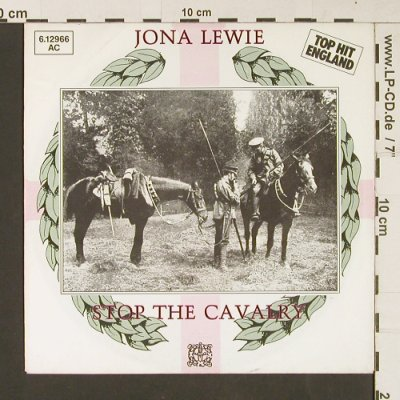 Lewie,Jona: Stop The Cavalry / Laughing Tonight, Stiff(6.12966 AC), D, 1980 - 7inch - S9253 - 2,00 Euro