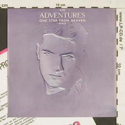 Adventures,The: One Step from Heaven, Remix +1, Elektra(969 463-7), D, 1985 - 7inch - S9323 - 2,50 Euro