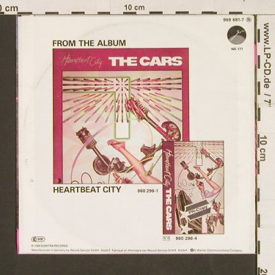 Cars,The: Hello Again*2 (dub version), Elektra(969 681-7), D, 1984 - 7inch - S9464 - 3,00 Euro