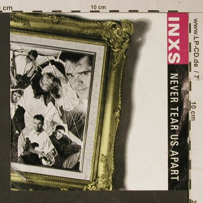 INXS: Never Tear Us Apart/Guns in the Sky, Mercury(870 488-7), D, 1988 - 7inch - T1083 - 3,00 Euro