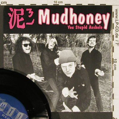 Gas Huffer / Mudhoney: Knife Manual / You Stupid Asshole, Empty(MT-166), D, 1991 - 7inch - T129 - 4,00 Euro