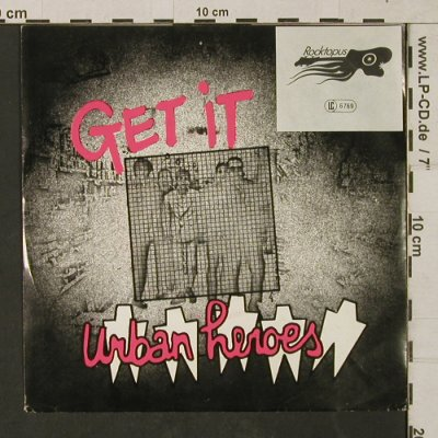 Urban Heroes: Get it / Lovin'You Lovin'Me -stoc, Fleet(101.378), NL, 1980 - 7inch - T1461 - 2,50 Euro