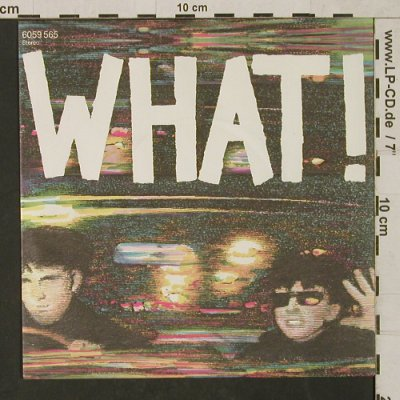 Soft Cell: What! / .... So, Vertigo(6059 565), UK, 1982 - 7inch - T1475 - 3,00 Euro
