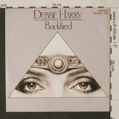 Debbie Harry: Backfired / Military Rap, Chrysalis(103 335-100), D, 1981 - 7inch - T1490 - 3,00 Euro