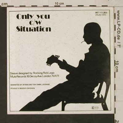 Yazoo: Only You / Situation, vg+/m-, Mute(INT 111.803), D, 1982 - 7inch - T1538 - 2,50 Euro