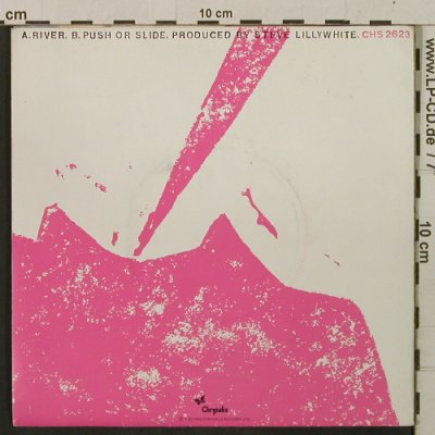 King Trigger: River/Push Or Slide, poster cover, Chrysalis(CHS 2623), UK, 1982 - 7inch - T2162 - 5,00 Euro