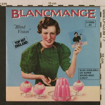 Blancmange: Blind Vision / Heaven Knows..., London(6.13866 AC), D, 1983 - 7inch - T2313 - 2,00 Euro