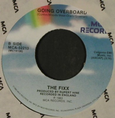 Fixx, The: Saved By Zero / Going Overboard, MCA / Promo stol(52213), US, FLC, 1983 - 7inch - T2315 - 2,50 Euro