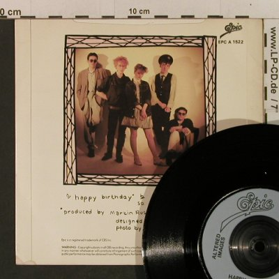 Altered Images: Happy Birthday/So We Go Whispering, Epic(EPC A 1522), UK, 1981 - 7inch - T2394 - 3,00 Euro