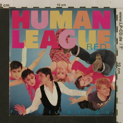 Human League: Fascination / Total Panic, AM(AM-2547), US, 1983 - 7inch - T2395 - 2,50 Euro