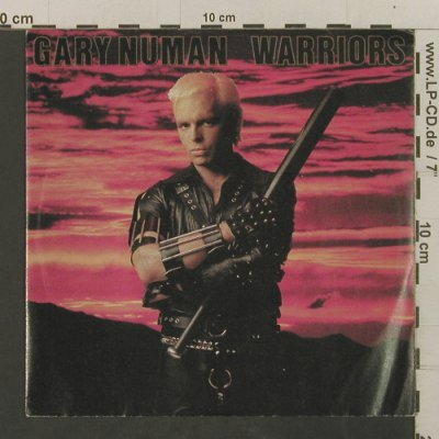 Numan,Gary: Warriors / My Car Slides 1, m-/vg+, Beggars Banquet(BEG 95), UK, 1983 - 7inch - T2397 - 2,50 Euro