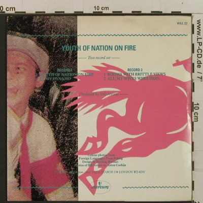 "Nelson,Bill: Youth Of Nation On Fire + 3, FOC, Mercury(WILL 22), UK, 1981 - 7""*2 - T2399 - 4,00 Euro"