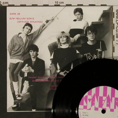 Toyah: Ieya / Helium Song, m-/vg+, Safari(SAFE 28), UK, 1980 - 7inch - T2403 - 2,50 Euro