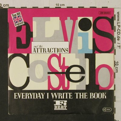 Costello,Elvis: Everyday I Write A Book/HeathenTown, F-Beat(ZB 68082), UK/D, 1983 - 7inch - T2481 - 4,00 Euro