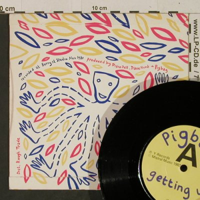 Pigbag: Getting Up / Go Cat, Y-Records(Y-16), UK, 1982 - 7inch - T2483 - 5,00 Euro