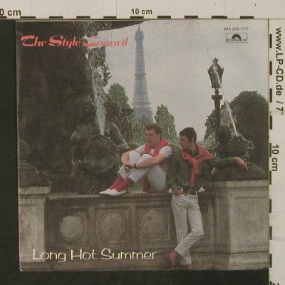 Style Council: Long Hot Summer / Le Départ, Polydor(815 276-7), D, 1983 - 7inch - T2485 - 4,00 Euro
