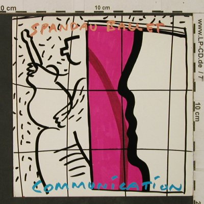 Spandau Ballet: Communication / Edited Club Version, Chryalis(CHS 2668), UK, 1983 - 7inch - T2492 - 3,00 Euro
