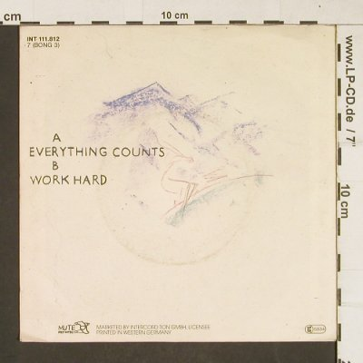 Depeche Mode: Everything Counts / Work Hard, Mute(INT 111.812), D, 1983 - 7inch - T249 - 4,00 Euro