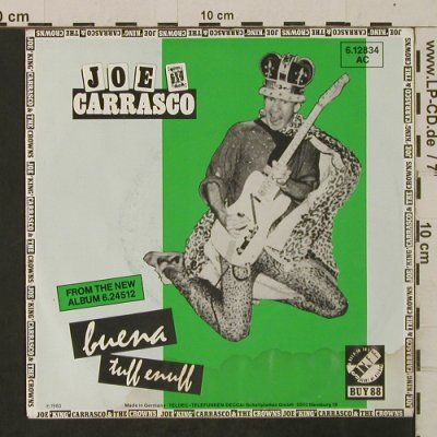 Carrasco,Joe King: Buena / Tuff Enuff, m-/vg+, Stiff  BUY88(6.12834), D, 1980 - 7inch - T2515 - 2,50 Euro