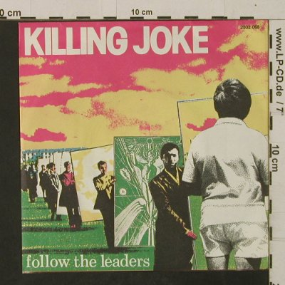 Killing Joke: Follow The Leaders / Tension, Polydor/EG(2002 066), D, 1981 - 7inch - T2516 - 6,00 Euro