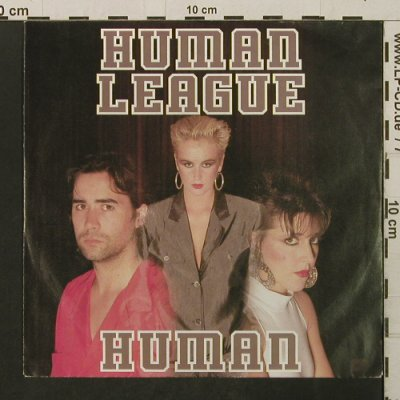 Human League: Human / Human (Instr.), Virgin(108 290-100), D, 1986 - 7inch - T2797 - 1,50 Euro