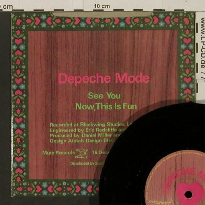 Depeche Mode: See You / Now, This Is Fun, Mute(MUTE 018), UK, 1983 - 7inch - T2808 - 5,00 Euro