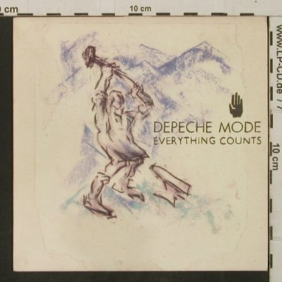 Depeche Mode: Everything Counts/Work Hard, Mute(Bong 3), UK, 1983 - 7inch - T3289 - 4,00 Euro