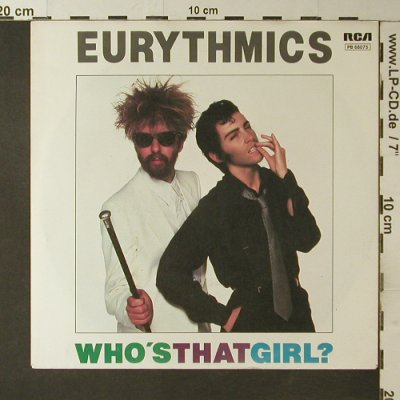 Eurythmics: Who's That Girl? / You Take Some Le, RCA(PB 68075), D, 1983 - 7inch - T3507 - 2,50 Euro