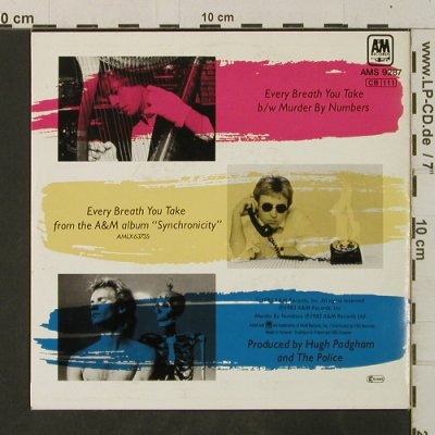 Police: Every Breath You Take / Murder By N, AM(AMS 9287), D, 1983 - 7inch - T3530 - 3,00 Euro