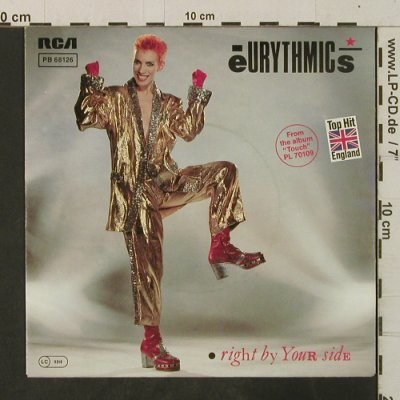 Eurythmics: Right By Your Side*2, RCA(PB 68126), D, 1983 - 7inch - T3544 - 2,50 Euro