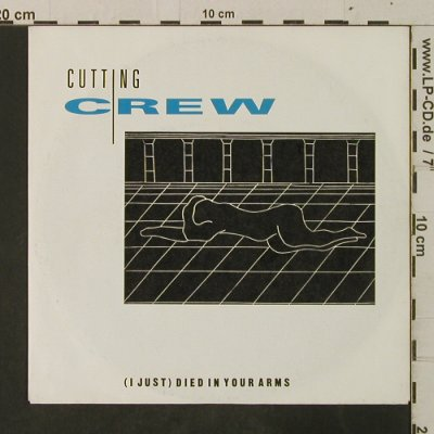 Cutting Crew: (I just) died in your arms, Virgin(108 551-100), D, 1986 - 7inch - T3634 - 2,00 Euro