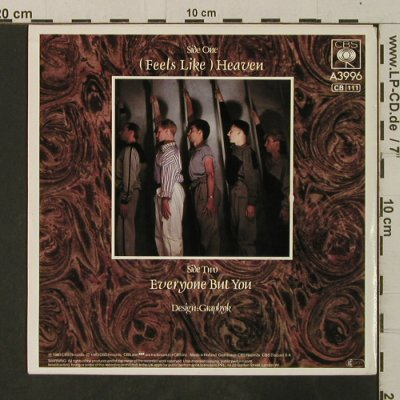 Fiction Factory: (Feels Like)Heaven / Everyone But Y, CBS(A 3996), NL, 1983 - 7inch - T3653 - 2,50 Euro