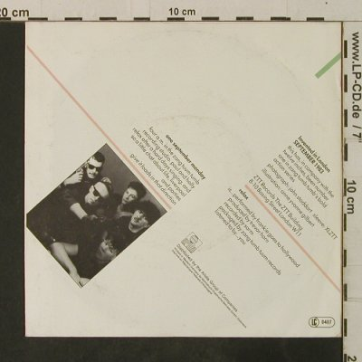Frankie Goes To Hollywood: Relax / One September Monday, Island(106 104-100), D, 1983 - 7inch - T3662 - 3,00 Euro
